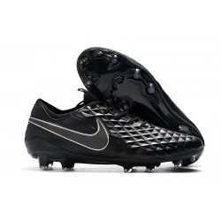 Zapatos de Fútbol Nike Tiempo Legend VIII Elite FG Negro