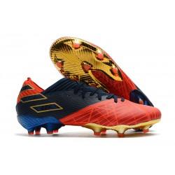 Bota de fútbol adidas Nemeziz 19.1 FG - X Marvel Rojo Azul Negro