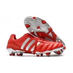 Adidas Predator Mania Og FG Predator Zapatos de Fútbol -Rojo Metal