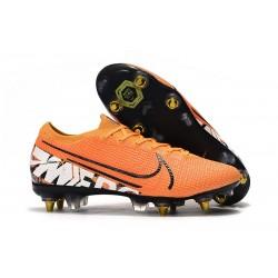 Botas Nike Mercurial Vapor 13 Elite SG-Pro Naranja Blanco