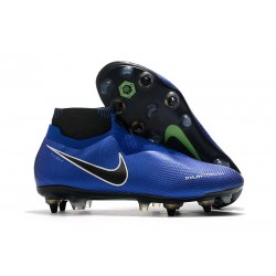 Nike Phantom Vision Elite DF ACC Anti-Clog SG-Pro Azul Cromo Blanco