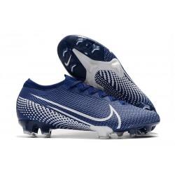 Zapatillas Nike Mercurial Vapor XIII Elite FG ACC Azul Blanco