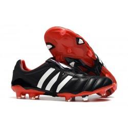 Adidas Predator Mania FG Zapatos de Fútbol -Negro Rojo Blanco