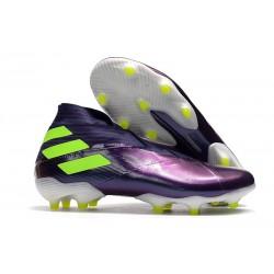 Adidas Botas de Fútbol Nemeziz 19+ FG - Violet Verde
