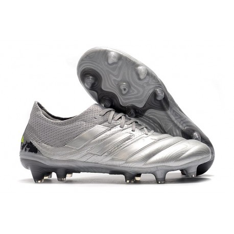 Zapatilla Futbol Adidas COPA 20.1 FG Silver Amarillo
