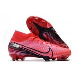 Bota de Fútbol Nike Mercurial Superfly 7 Elite FG Láser Crimson Negro