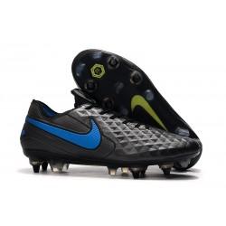 Botas Nike Tiempo Legend VIII Elite ACC SG - Negro Azul