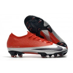 Nike Future DNA Mercurial Vapor XIII Elite FG ACC Rojo Plata