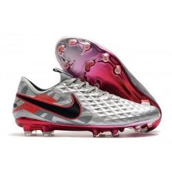 Zapatos de Fútbol Nike Tiempo Legend VIII Elite FG Gris Negro