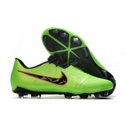Nike Zapatos de Futbol Phantom Venom Elite FG Verde Strike Negro