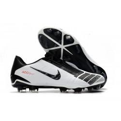 Nike Zapatos de Futbol Phantom Venom Elite FG Blanco Negro Rojo