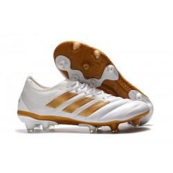 Zapatillas de Fútbol adidas Copa 19.1 FG - Blanco Oro
