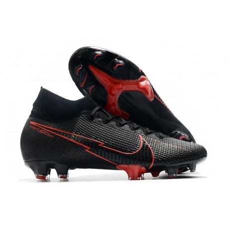 Nike Zapatillas Mercurial Superfly VII Elite FG ACC Negro Rosso