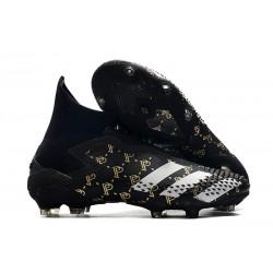 Bota de Fútbol Paul Pogba adidas Predator Mutator 20+ PP FG Negro Gris