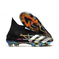 Bota de Fútbol adidas Predator Mutator 20+ FG Naranja Blanco Negro