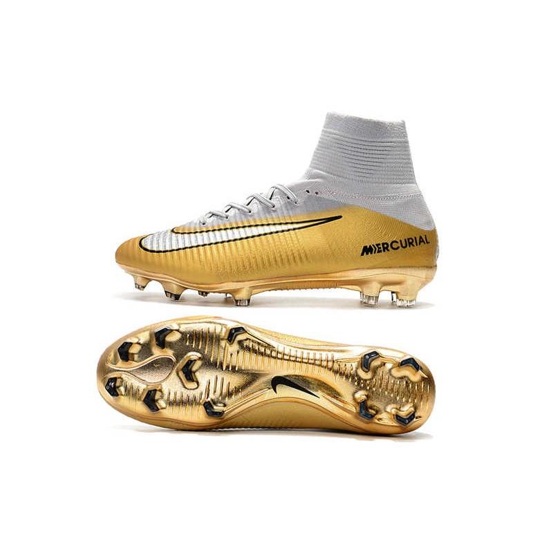 988158504 Nike Mercurial Superfly 5 FG Adulto Bota de Fútbol -CR7 Quinto Triunfo