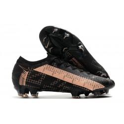 Nike Bota Mercurial Vapor 13 Elite FG Negro Rosa