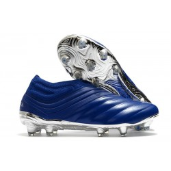 Botas de Futbol adidas Copa 20+ FG Azul Royal Plateado metalizado