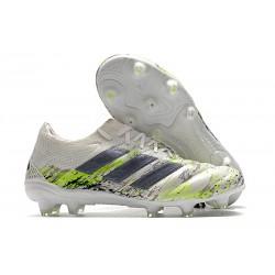 Zapatilla Futbol Adidas COPA 20.1 FG Blanco Negro Verde