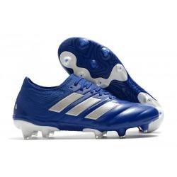 Zapatilla Futbol Adidas COPA 20.1 FG Azul Royal Plateado metalizado