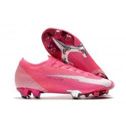 Nike Mercurial Vapor 13 Elite FG Mbappé Rosa - Rosa Blanco